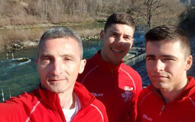 Prva grupa slalomaša počela pripreme u Sloveniji