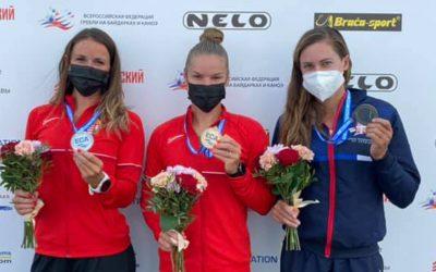 Kristina bronzana na 25.9km u Moskvi